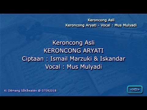 Free Download Keroncong Aryati - Mus Mulyadi Mp3 dan Mp4