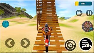 Motocross Beach Bike Stunt Racing - Motor Racer Games - Gameplay Android