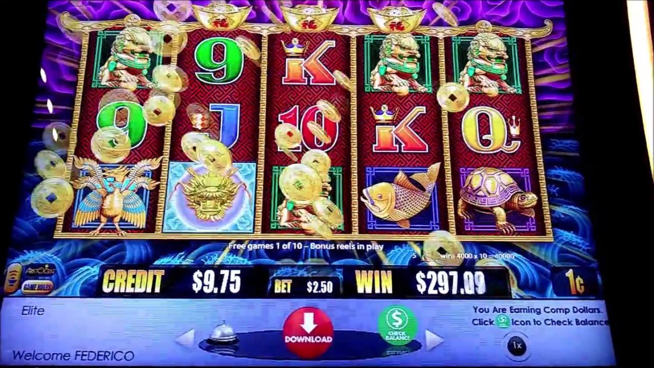 5 Dragons Poker Machine