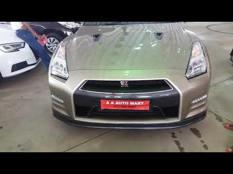 Nissan GTR sport car at LB big wheels motor show colombo