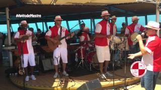 Grupo Apito de Mestre em turnê internacional no navio Rhapsody da Royal Caribbean