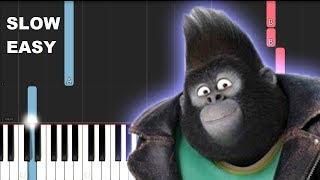 Elton John - I'm Still Standing (SLOW EASY PIANO TUTORIAL)