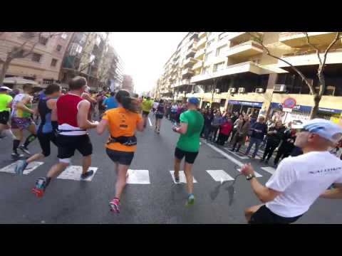Barcelona Marathon 2017 - through the eyes of a runner (GoPr