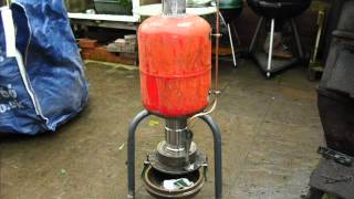 How to make a waste oil Heater