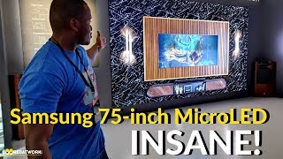Samsung 75 inch- MicroLED TV: It