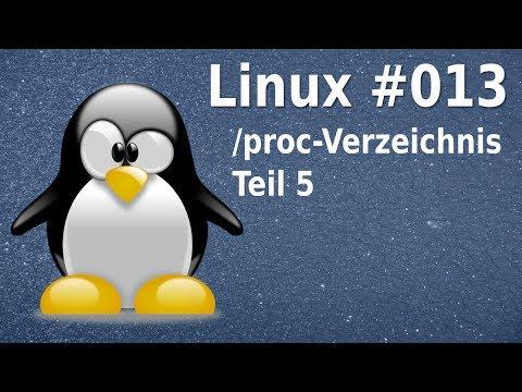 Linux - weitere wichtige Unterverzeichnisse in /proc