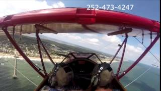 Outer Banks Biplane Air Tour with Scott and Kathy Thumbnail
