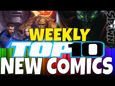 TOP 10 WHAT NEW COMICS TO BUY THIS WEEK February 27th 2019 - New Comic Book Day - MARVEL , DC...