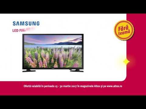 Reclamă ALTEX - TV Samsung - martie 2017