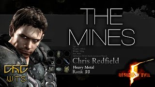 RE5 - Mercenaries Reunion Guide SS RANK Chris Heavy Metal - The Mines [NARRADO]