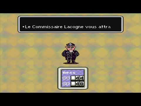 16 - Walkthrough FR l Earthbound l Boss 3 : Captain Strong (Commissaire Lacogne) (140HP))