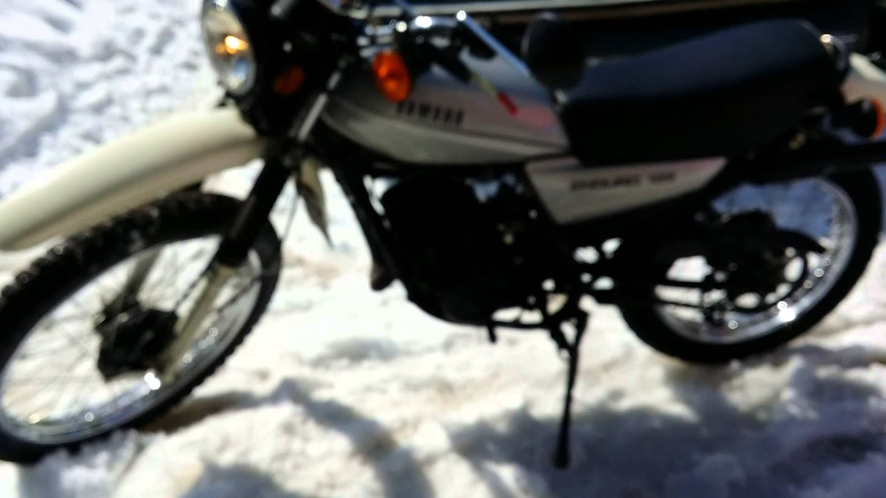 1980 yamaha enduro 125 youtube. Black Bedroom Furniture Sets. Home Design Ideas