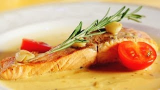 Как приготовить лосось в соусе