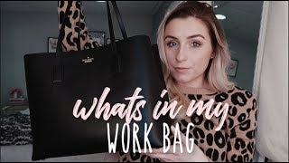 WHATS IN MY WORK BAG | LEGAL INTERN