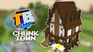 One Chunk Town Starter House - Truly Bedrock SEASON 2