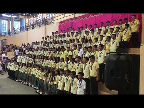 San Fernando National High School (Cebu) Moving Up song by Grade 10 Batch 2017-2018