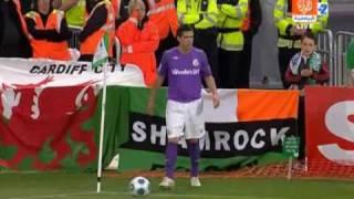 Shamrock Rovers vs Real Madrid - highlights (21.07.2009)