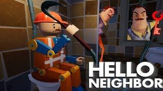 - 2 СПОСОБА КАК ПРОЙТИ 2 АКТ В ПРИВЕТ СОСЕД СБЕЖАЛ ОТ Hello Neighbor