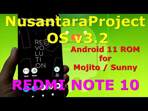 NusantaraProject OS v3.2 OFFICIAL for Redmi Note 10 ( Mojito / Sunny ) Android 11