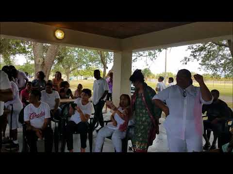 Rayen Kalpoe's Holi song at Indo-Jamaican phagwah in FL