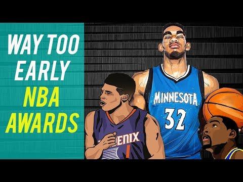 2018 NBA Award Predictions