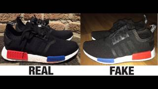 How To Spot Fake Adidas NMD Trainers/Sneakers Authentic vs Replica Comparison