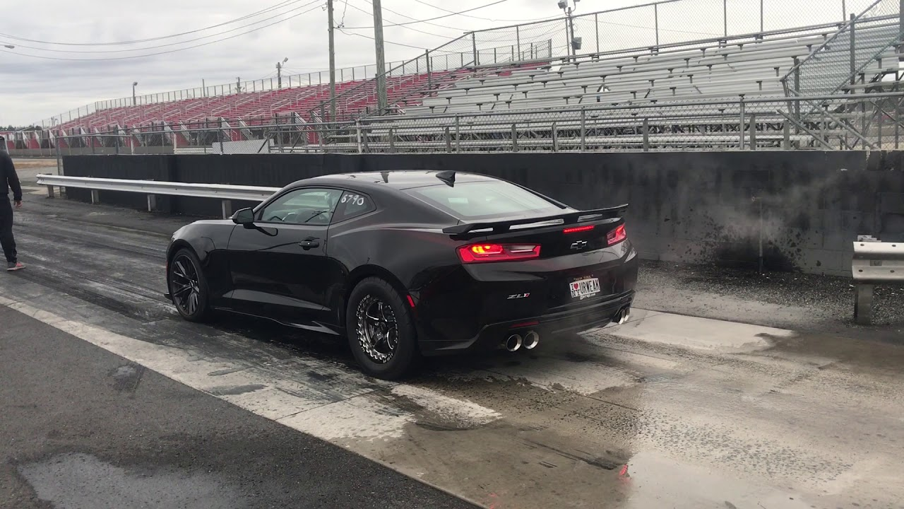 2018 Zl1 1 4 Mile Stock With Drag Tires