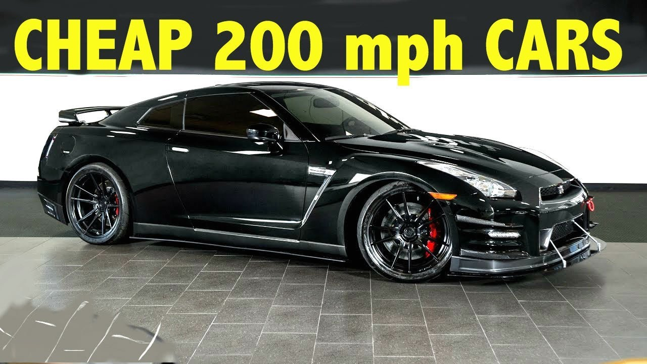 200 Mph Supercars Under 50k Youtube
