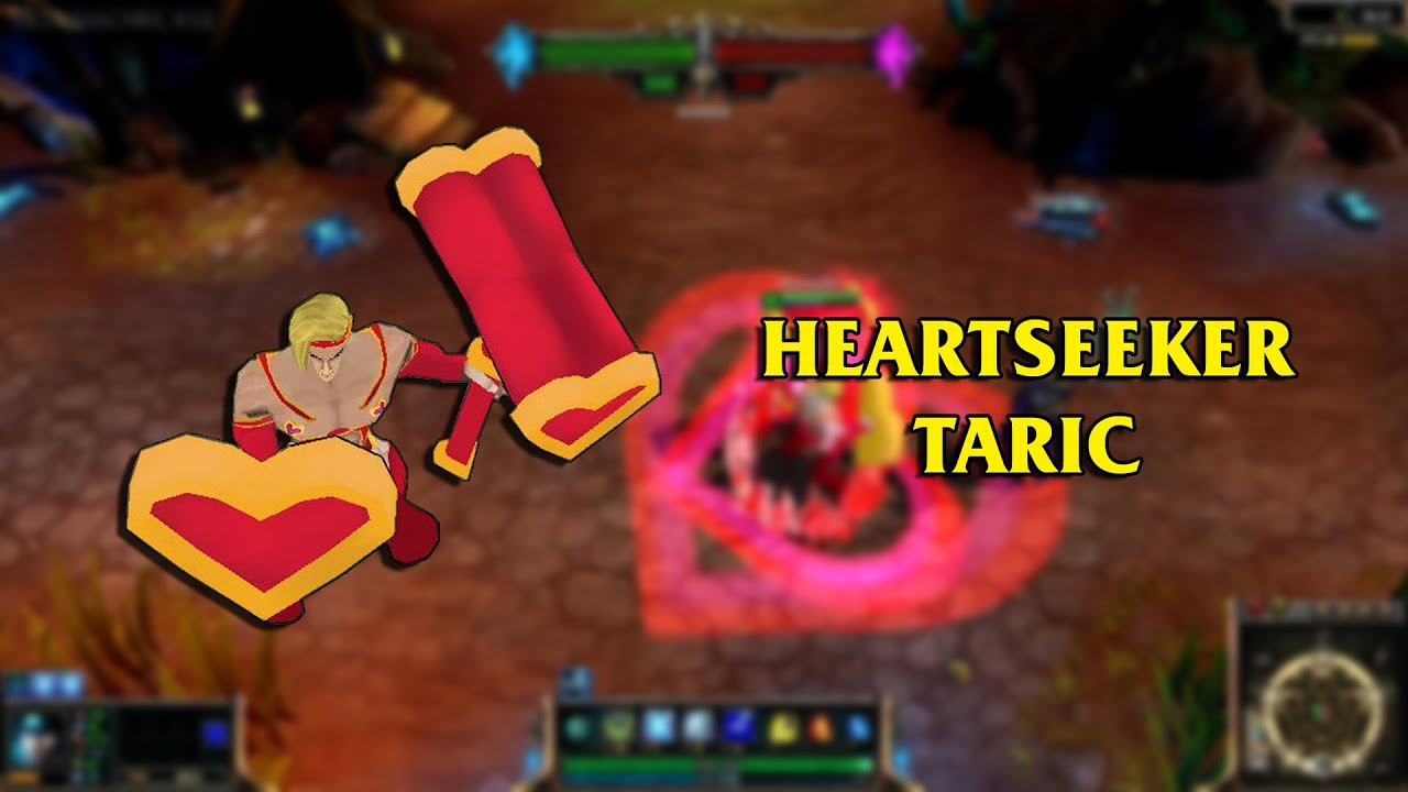 Heartseeker Taric LoL Custom Skin ShowCase - YouTube