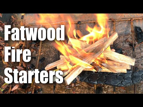 Fatwood Fire Starter Resin-filled Kindling Wood by Plow & Hearth Review