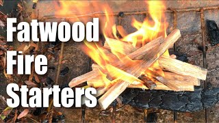 Gambar cover Fatwood Fire Starter Resin-filled Kindling Wood by Plow & Hearth Review