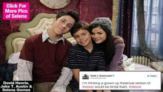 Prepare to freak out! the 'wizards of waverly place' creator todd j. greenwald is having some thoughts on a reunion after co-stars selena gomez and david hen...