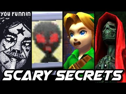 Thumbnail: Top 10 CREEPY SECRETS in Nintendo Games (3DS, Wii, N64)