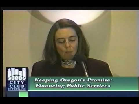 Keeping Oregon's Promise: Financing Public Services
