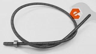 Trimmer Repair - Replacing the Lower Flexible Driveshaft (Ryobi Part # 791-181852)