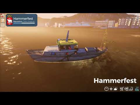 Let's Play Fishing Barents Sea part 5  2000 hooks in the water