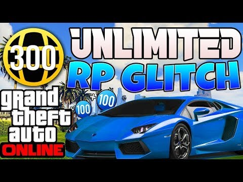 SOLO GTA 5 ONLINE RP GLITCH To Make You High RANK UNLIMITED LEVEL Super Fast