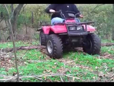 1993 Suzuki Quad Runner 250 4x4 LT-4wd - YouTube