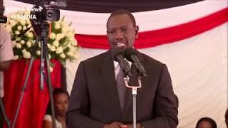 William Ruto FULL SPEECH at JOSEPH KAMARU funeral service BURIAL!!!