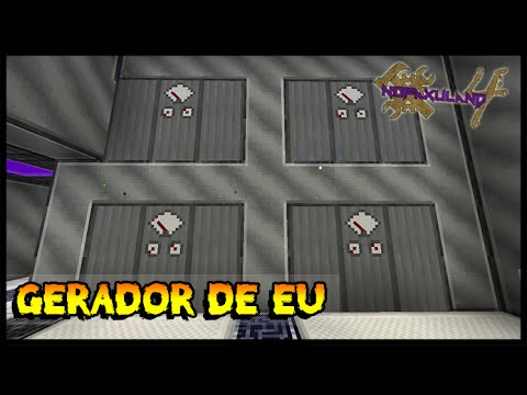 Gerador de EU (IndustrialCraft) - Nofaxuland 4 #81 (Minecraft + Mods 1.7.10)