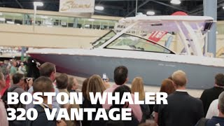 All-new Boston Whaler 320 Vantage Unveiled At The 2015 Miami Boat Show!
