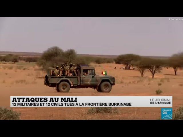 Mali : au moins 24 personnes tuées lors d'une attaque et de deux embuscades