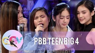 GGV: PBB OTSO Teen Big 4 show off their talents