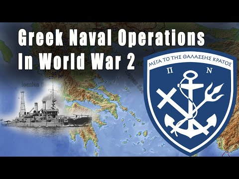 Greek Naval Operations In World War 2