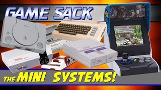 The Mini Systems! | NES SNES NeoGeo PlayStation C64 - Game Sack
