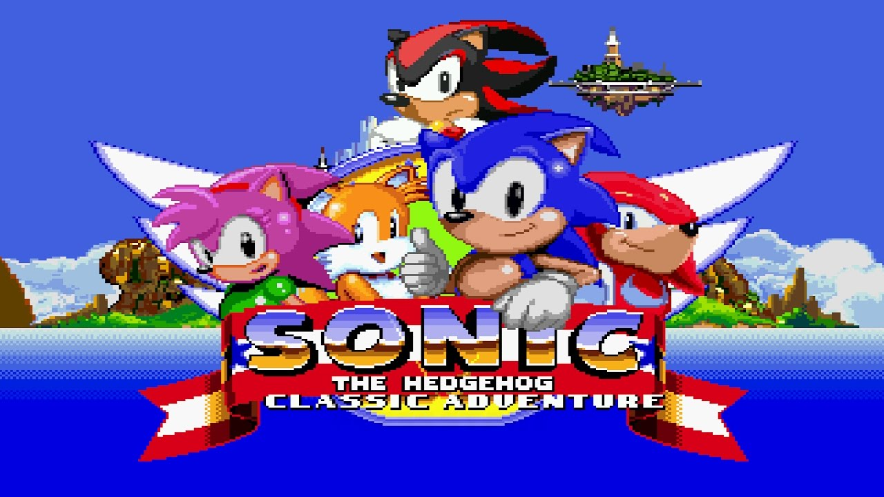 Sonic Classic Adventure (Demo) – Walkthrough – Fan Game
