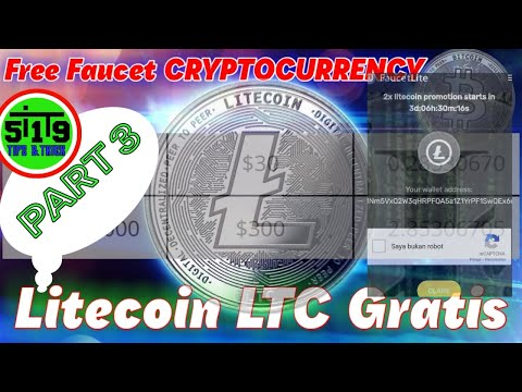 Faucet Gratis LTC Part 3 || Penghasil Uang Crypto || Mining Cryptocurrency LITECOIN