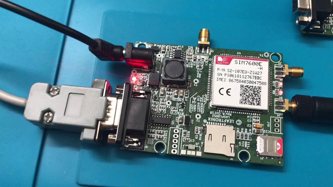SIM7600E - H LTE Modem