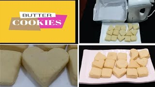 Easy Butter Cookies/Butter cookies at home/Cookies recipe in Tamil/kids Recipe