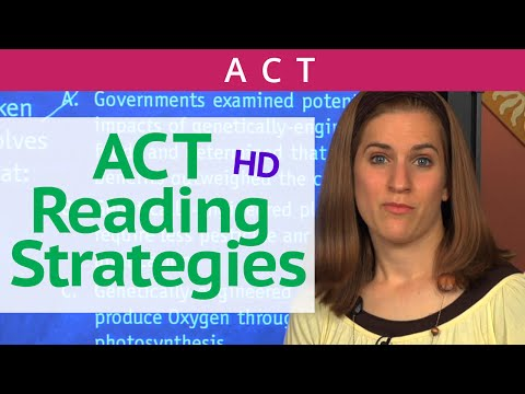 ACT Reading Strategies - Brightstorm ACT Prep
